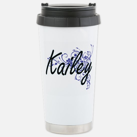 Kailey Artistic Name De Stainless Steel Travel Mug