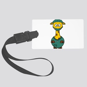 Doctor Giraffe Surgeon Large Luggage Tag