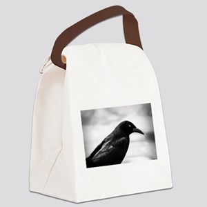 Grackle Raven Canvas Lunch Bag