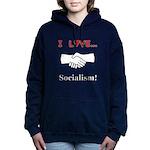 I Love Socialism Women's Hooded Sweatshirt