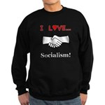 I Love Socialism Sweatshirt (dark)