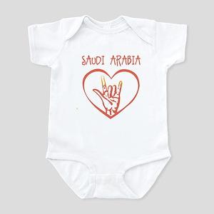 SAUDI ARABIA (hand sign) Infant Bodysuit