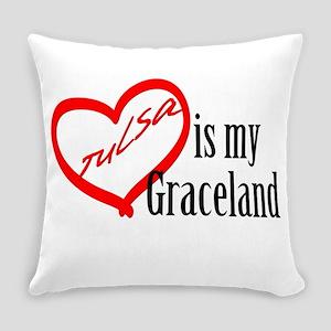 Tulsa Is My Graceland Everyday Pillow