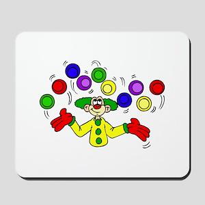 funny clown Mousepad
