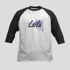 Laila Artistic Name Design with Fl Baseball Jersey