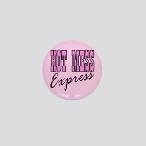 bachelorette party hot mess Mini Button