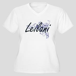Leilani Artistic Name Design wit Plus Size T-Shirt
