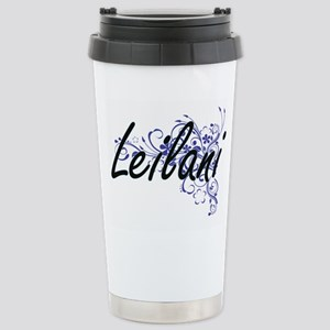 Leilani Artistic Name D Stainless Steel Travel Mug