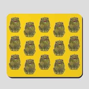 Vintage Toy Frog Art Mousepad