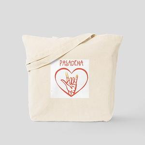 PASADENA (hand sign) Tote Bag