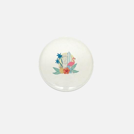 Unique Tropical Mini Button