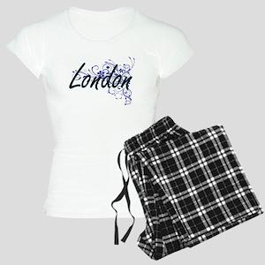 London Artistic Name Design Women's Light Pajamas