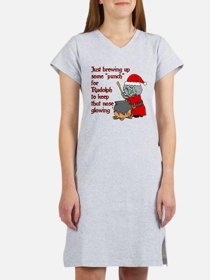 Brew for Rudolph Women's Nightshirt