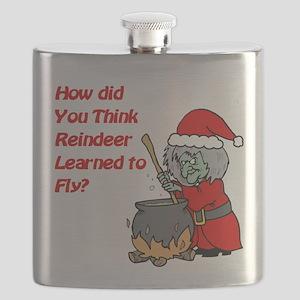 How Reindeer Fly Flask