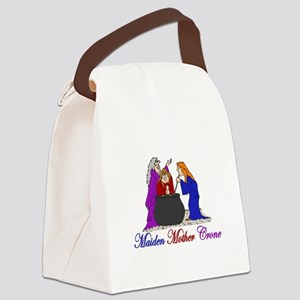 Maiden Mother Crone Canvas Lunch Bag