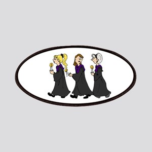 Three Women in Robes Patch