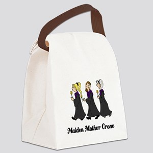 Three Women in Robes Canvas Lunch Bag