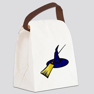 Brooms & Witches hat Canvas Lunch Bag