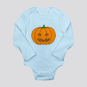 Jack O Lantern Long Sleeve Infant Bodysuit