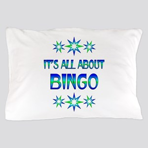 All About Bingo Pillow Case