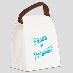 Pagan Princess Teal Canvas Lunch Bag