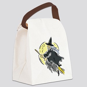 Across the Moon Canvas Lunch Bag