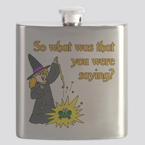What were you saying? Flask