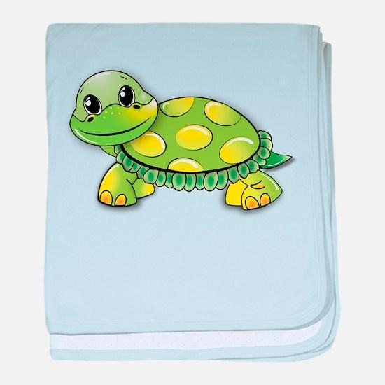Unique Cute turtle baby blanket