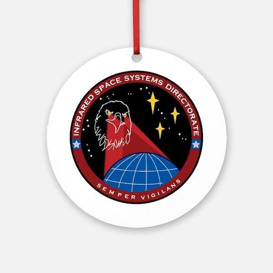 Infrared Directorate Round Ornament