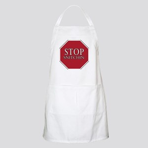 STOP SNITCHIN BBQ Apron