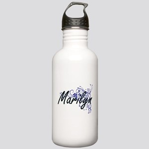 Marilyn Artistic Name Stainless Water Bottle 1.0L