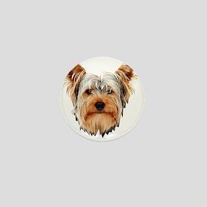 Yorkshire Terrier Mini Button