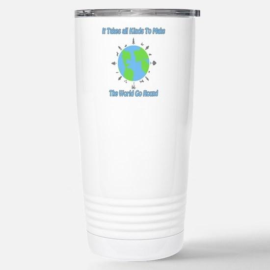 Around the World Stainless Steel Travel Mug
