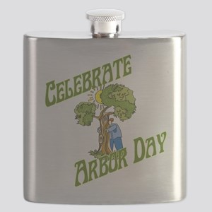 Celebrate Arbor Day Flask