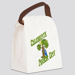 Celebrate Arbor Day Canvas Lunch Bag