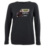Hold my beer! Plus Size Long Sleeve Tee