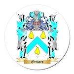 Orchard Round Car Magnet