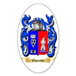 Oquendo Sticker (Oval 10 pk)