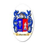 Oquendo 35x21 Oval Wall Decal