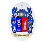 Oquendo Oval Ornament