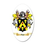 Oppy 35x21 Oval Wall Decal