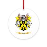 Oppy Round Ornament