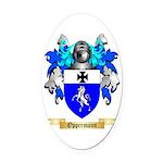 Oppermann Oval Car Magnet