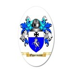 Oppermann 20x12 Oval Wall Decal