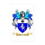Opperman Sticker (Rectangle 50 pk)