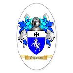 Opperman Sticker (Oval 10 pk)
