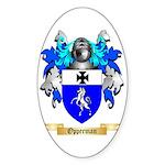 Opperman Sticker (Oval 50 pk)