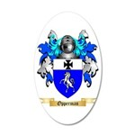 Opperman 20x12 Oval Wall Decal