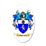 Opperman 35x21 Oval Wall Decal