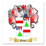 Onley Square Car Magnet 3